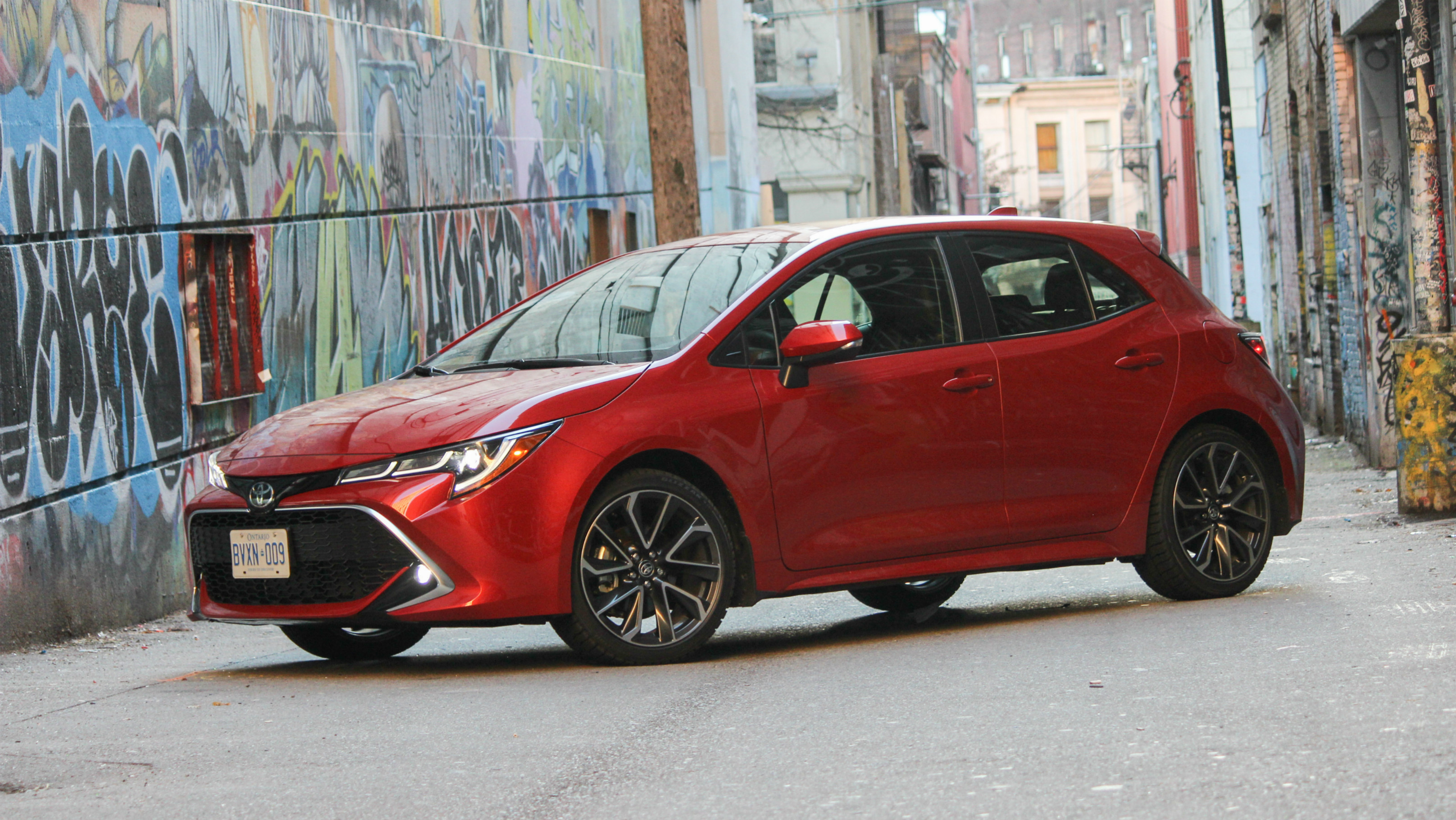 Review 2019 Toyota Corolla Hatchback
