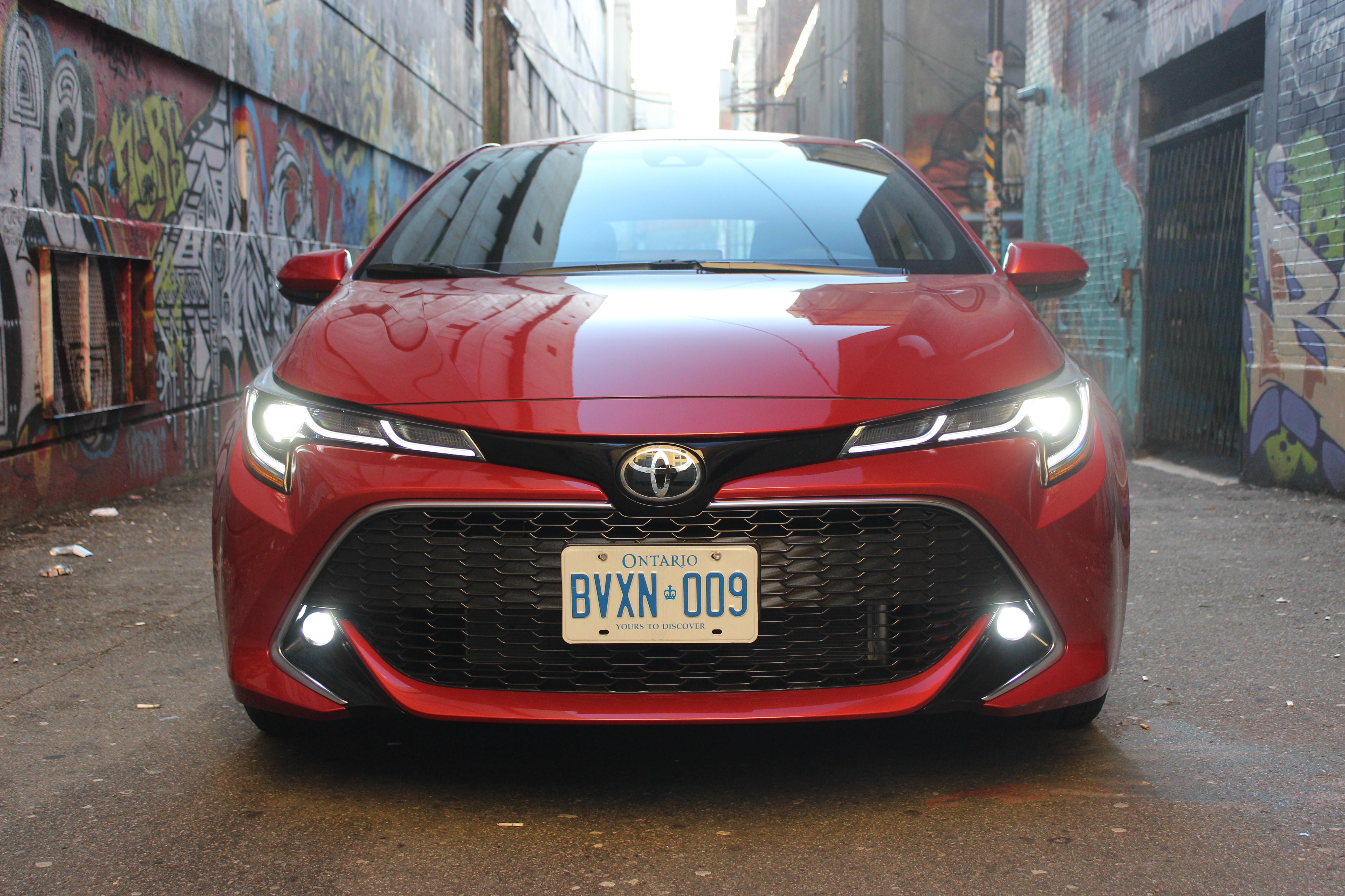 Review 2019 Toyota Corolla Hatchback Xse Wheels Ca