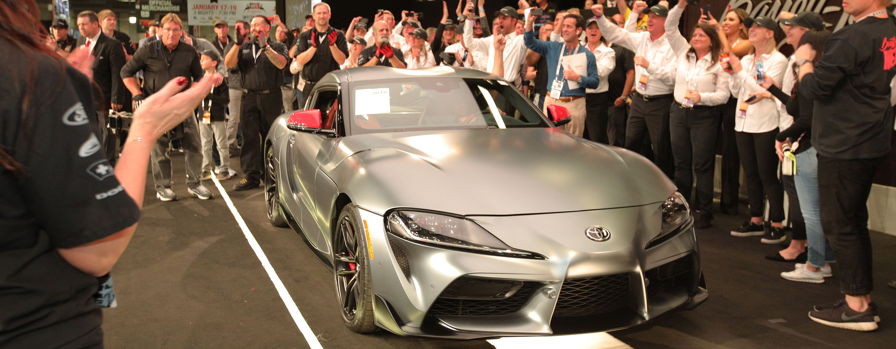 TrackWorthy - 2020 Toyota Supra Auction at Barrett-Jackson Scottsdale (1)