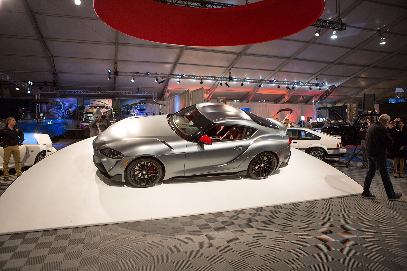 TrackWorthy - 2020 Toyota Supra Auction at Barrett-Jackson Scottsdale (2)