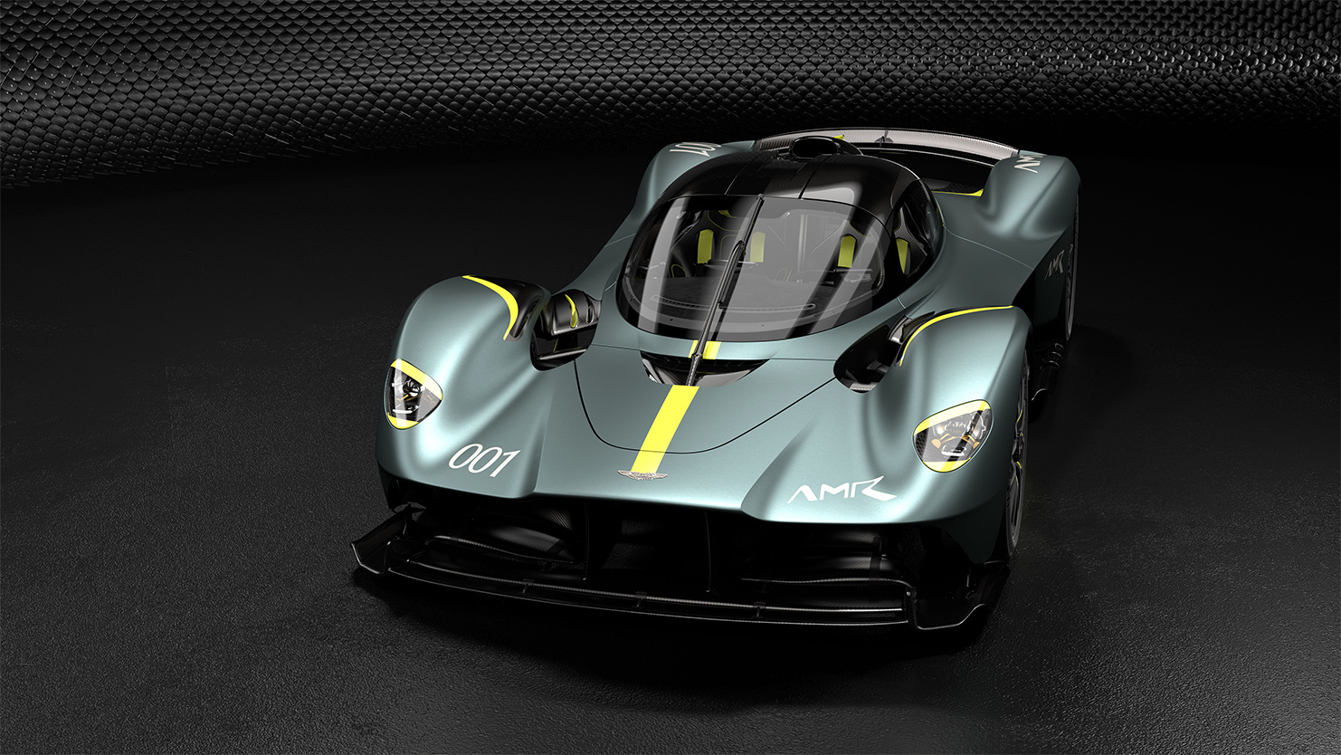 TrackWorthy - Aston Martin Valkyrie with AMR Track Performance Pack - Stirling Green and Lime livery (1)