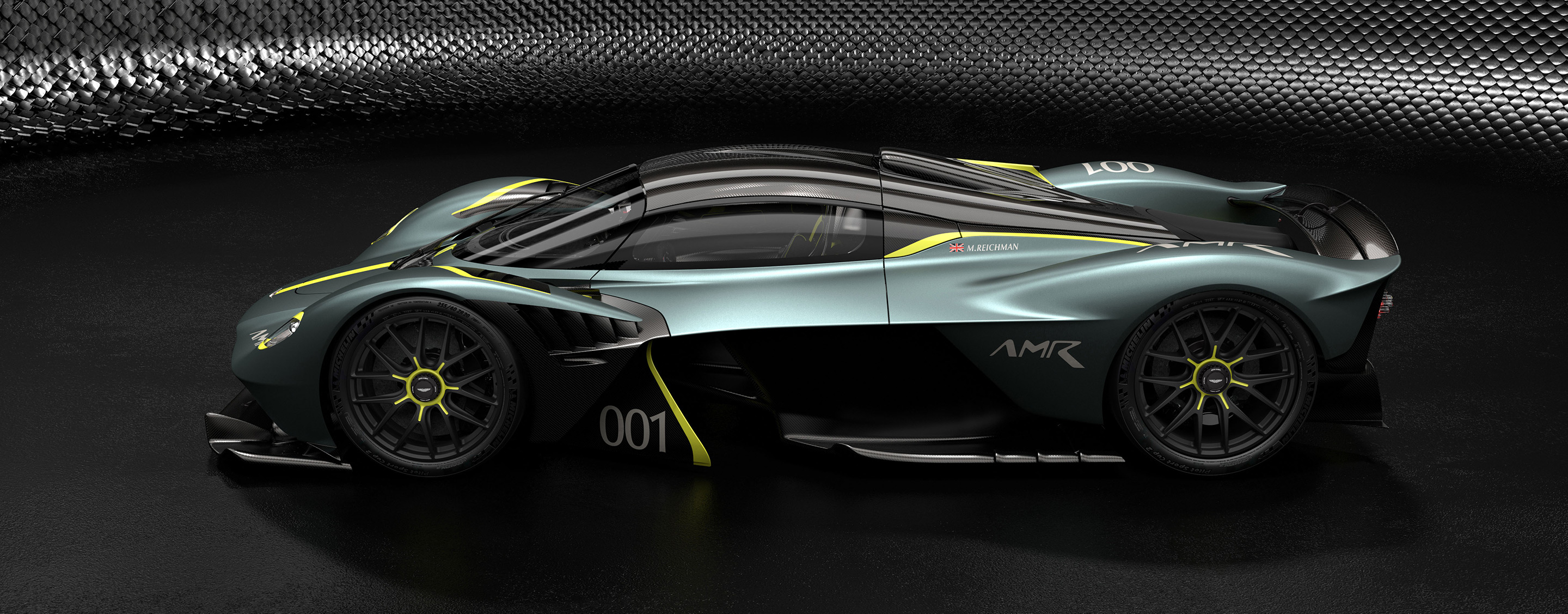 TrackWorthy - Aston Martin Valkyrie with AMR Track Performance Pack - Stirling Green and Lime livery (3)