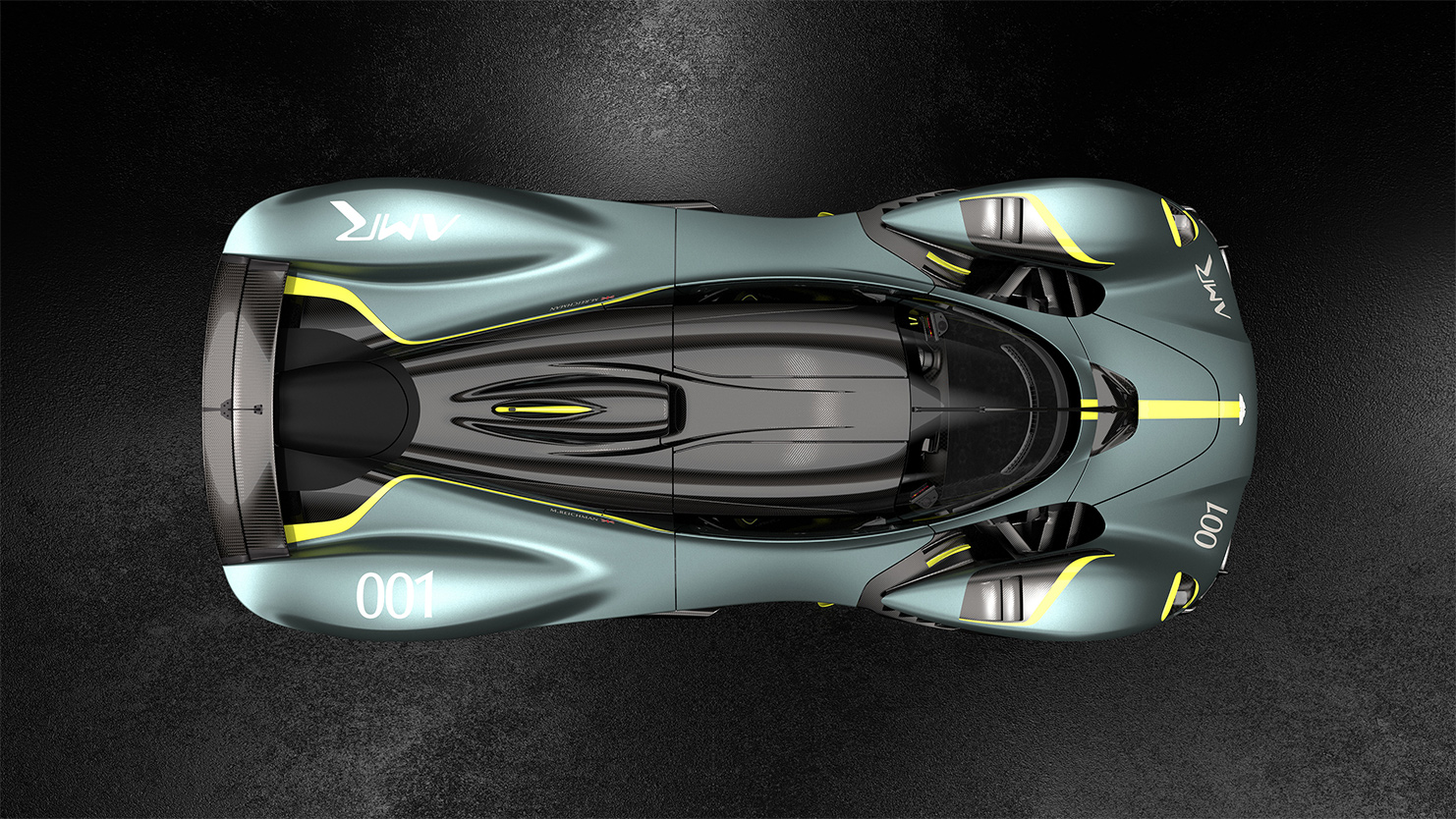 TrackWorthy - Aston Martin Valkyrie with AMR Track Performance Pack - Stirling Green and Lime livery (4)