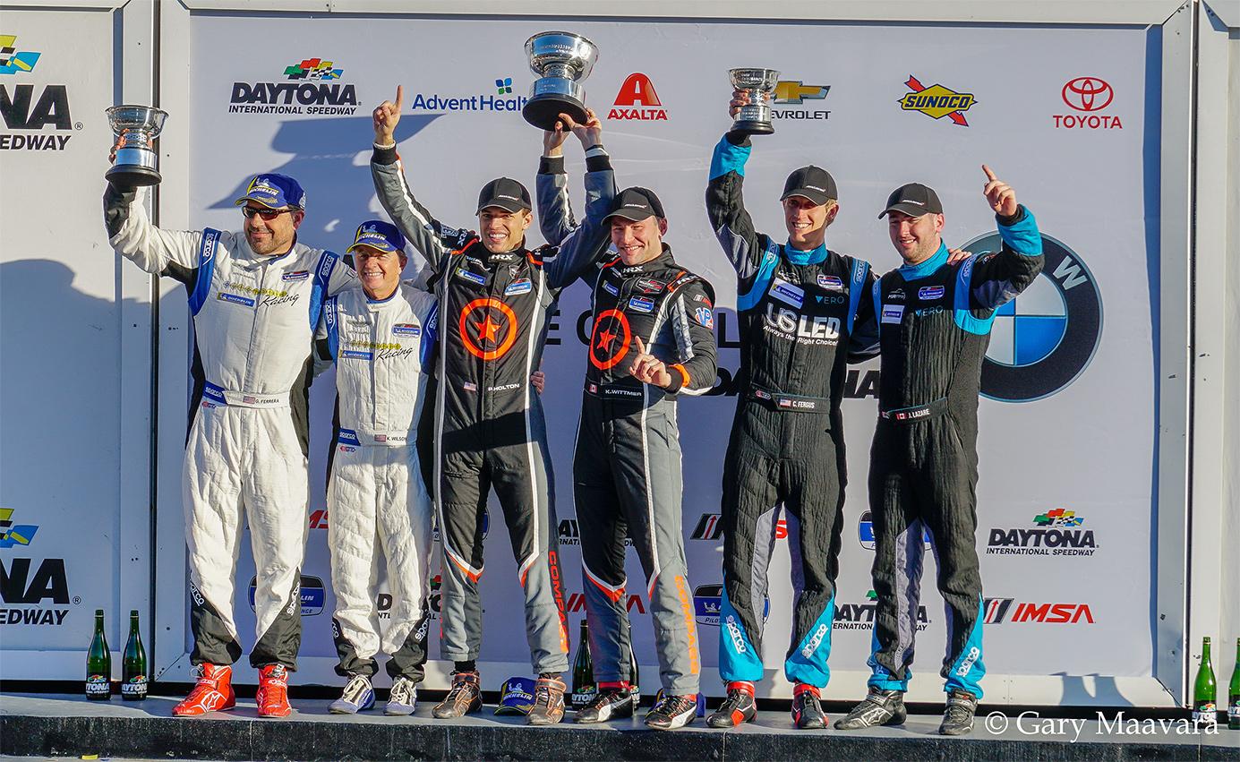 TrackWorthy - Michelin Pilot Challenge Daytona Podium