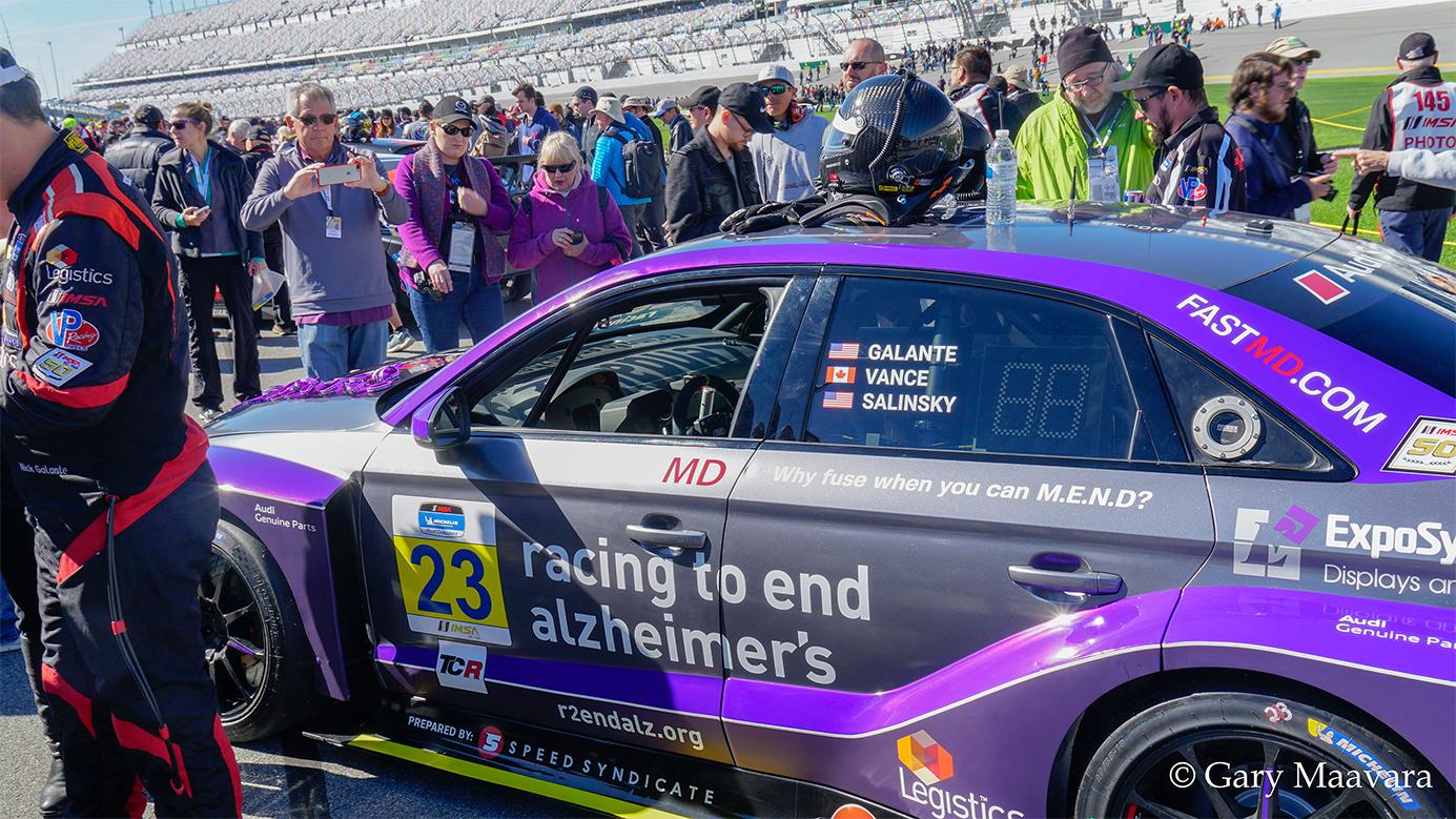 TrackWorthy - Michelin Pilot Challenge Daytona pre race No. 23 Audi RS3 LMS