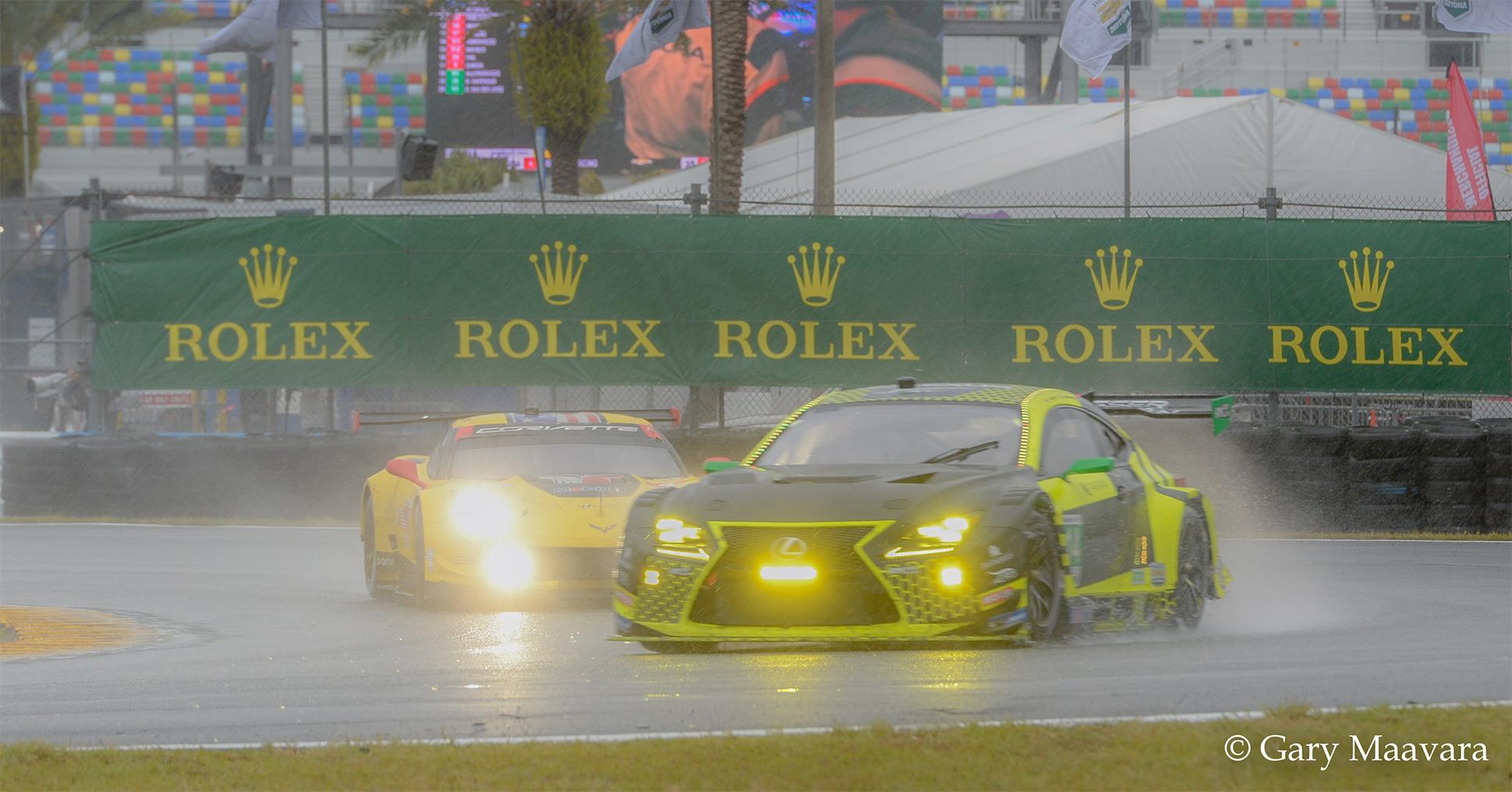 TrackWorthy - Rolex 24_race_Sunday_Horseshoe Curve_Lexus-3