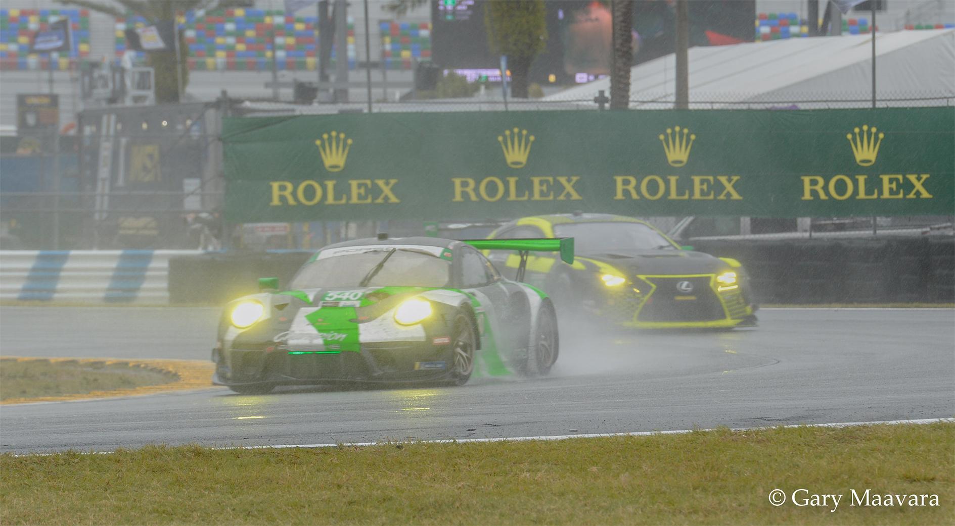 TrackWorthy - Rolex 24_race_Sunday_Horseshoe Curve_Lexus