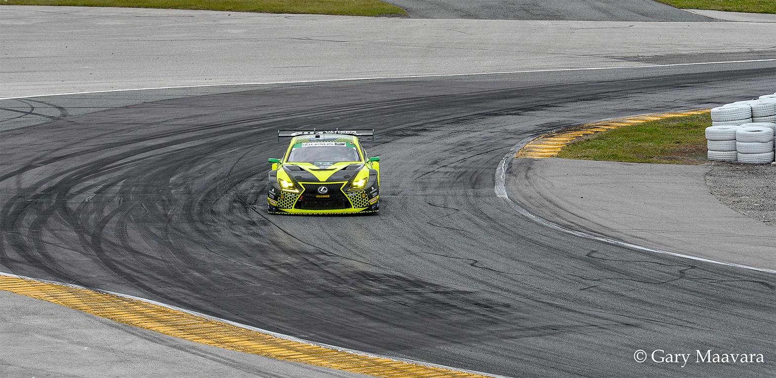 TrackWorthy - Rolex 24_race_hour 1_ #12_AIM Vasser Sullivan_Lexus RC F GT3
