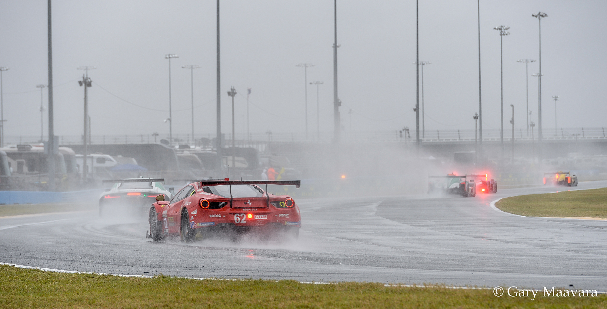 TrackWorthy - Rolex 24_race_hour 20_#62_Risi Competione_Ferrari 488 GTE
