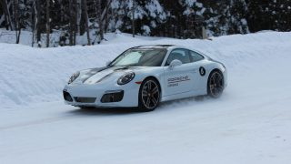 2019 Porsche Ice Experience The Art of the (Snow) Drift
