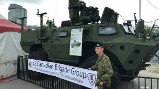 AutoShow Honours Canada's Military Vehicles