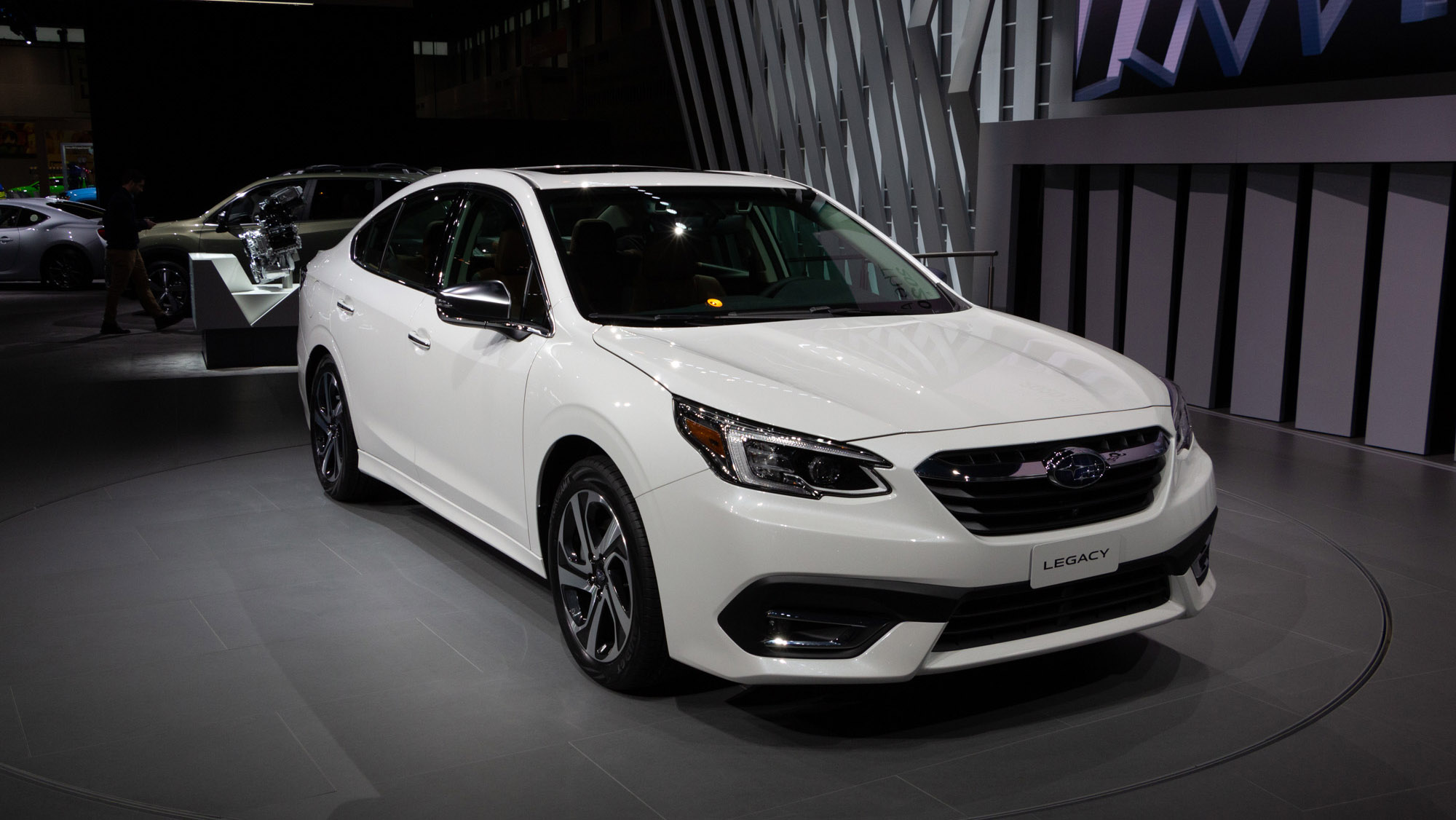Subaru S Legacy For 2020 Is The Gift Of More Power Huge Screens Wheels Ca