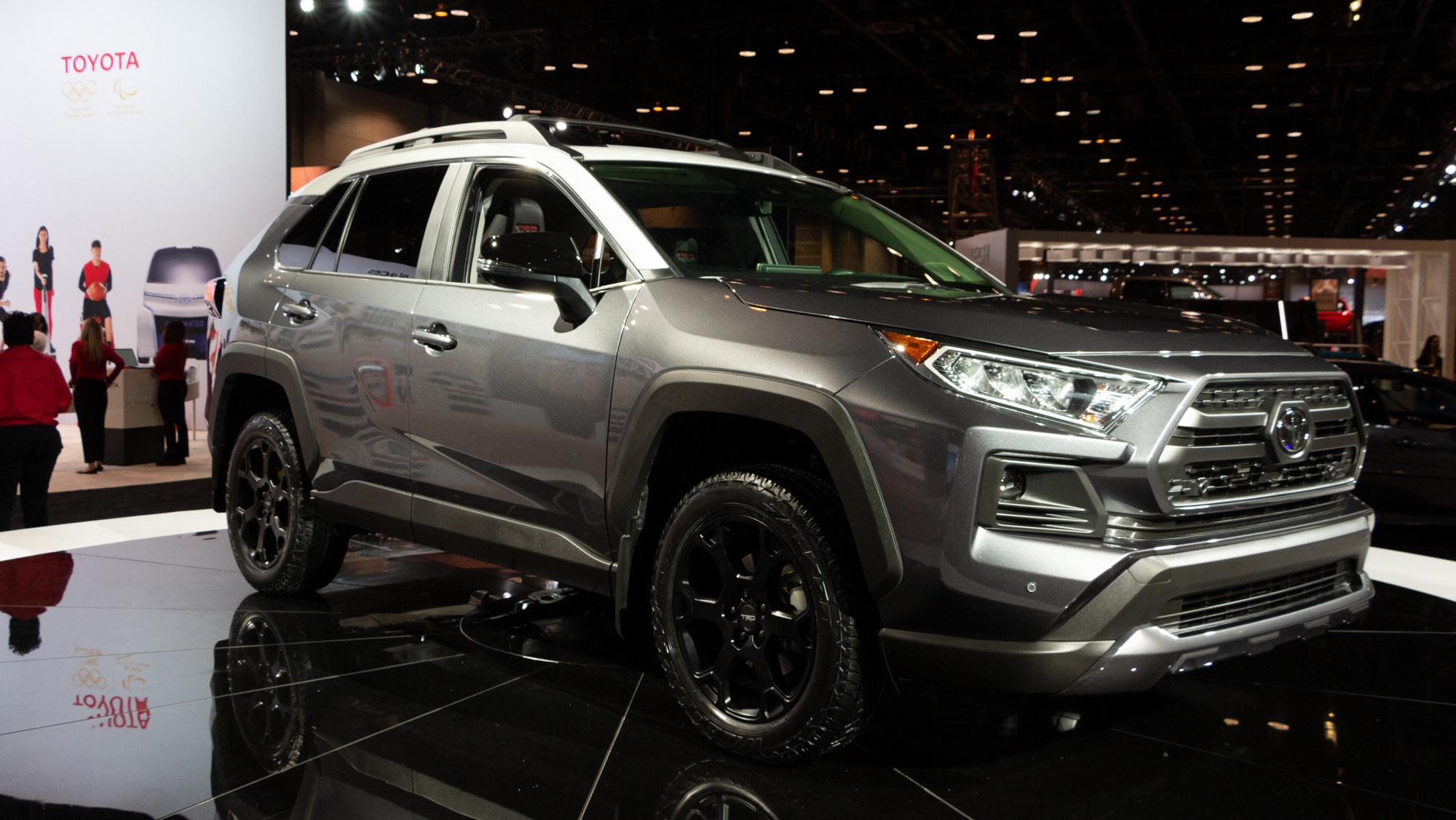 Toyota Brings Trd To Rav4 For 2020 Wheels Ca