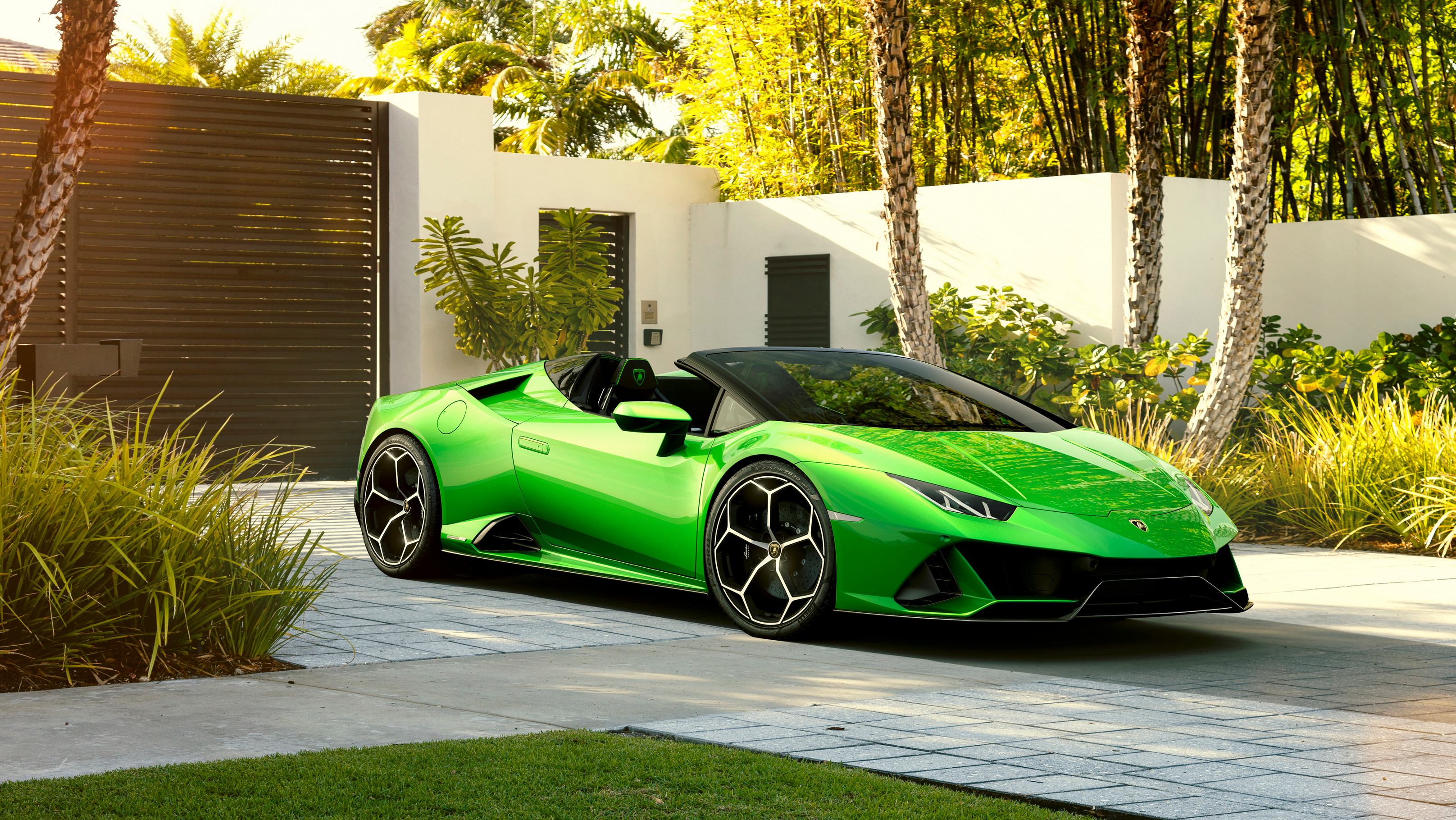 Green With Envy Lamborghini Huracan Evo Spyder Wheels Ca