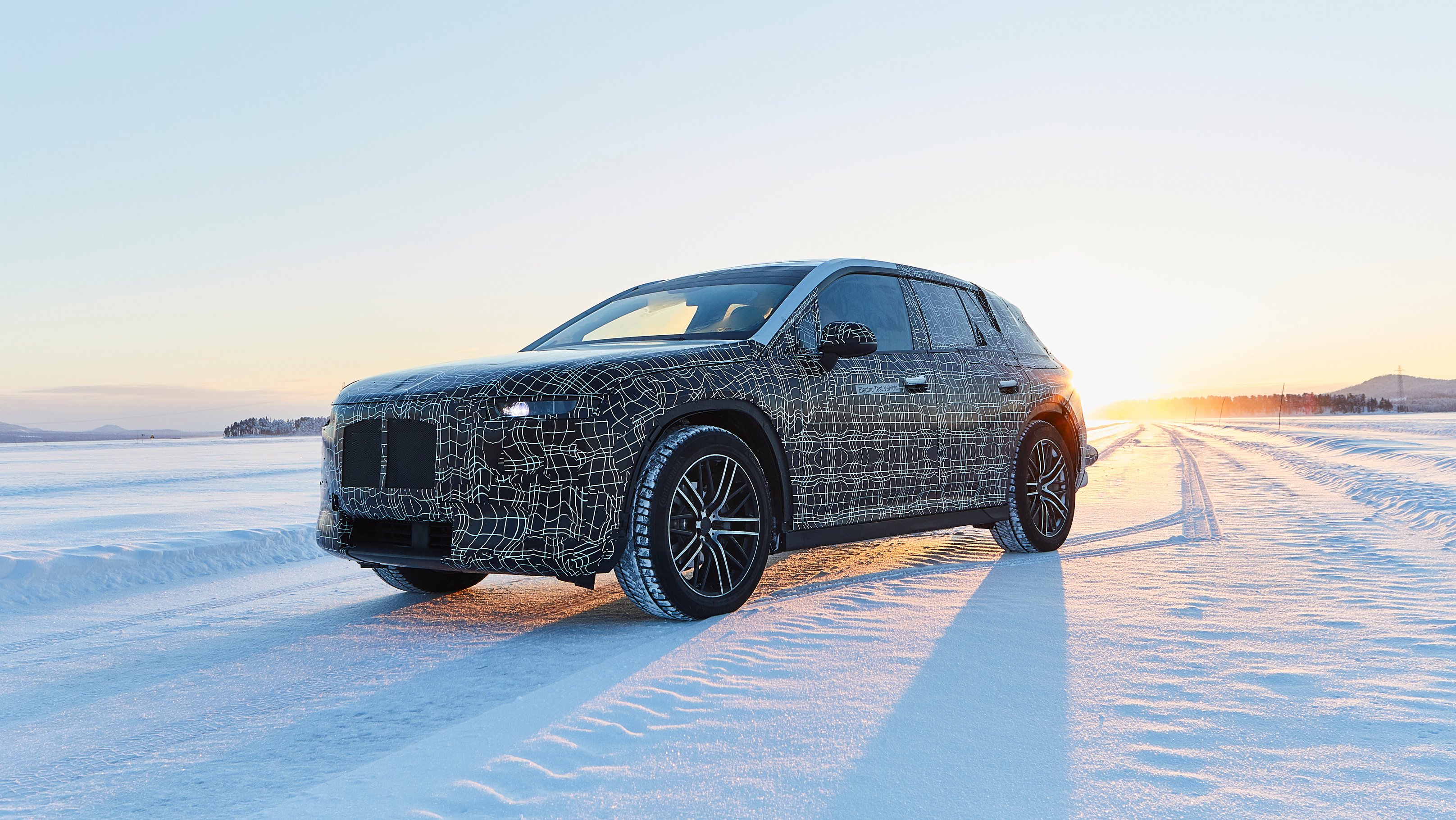 BMW Takes iNext North for Cold Testing