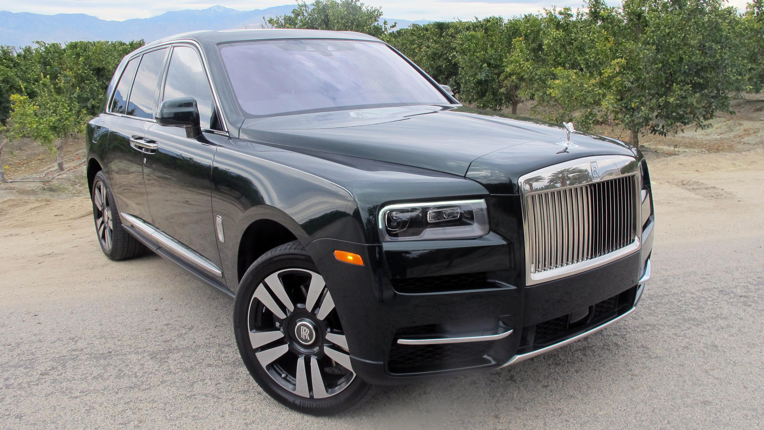 First Drive 2019 Rolls-Royce Cullinan
