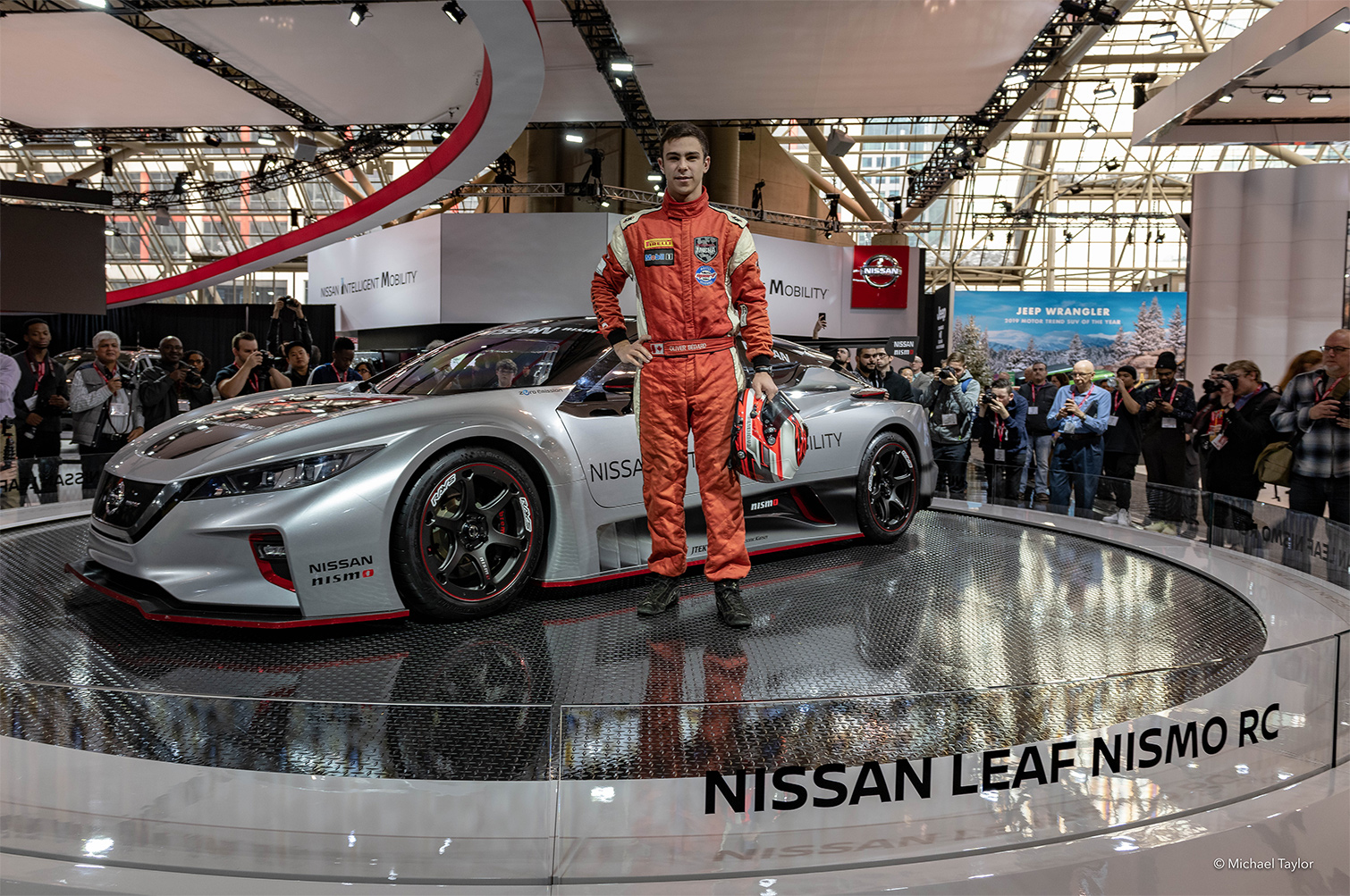 TrackWorthy - CIAS_Nissan Leaf Nismo RC under wrap and unveiling ceremony-4