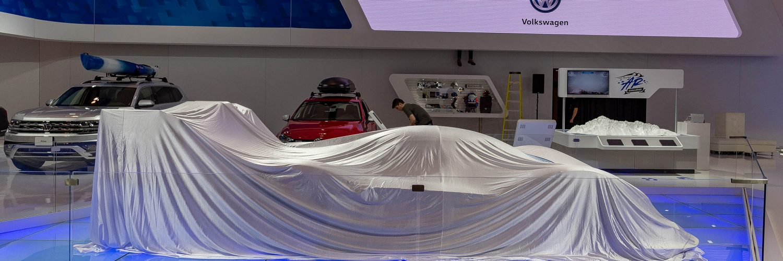 TrackWorthy - CIAS_VW motorsoiort I. D. R all electric under wraps