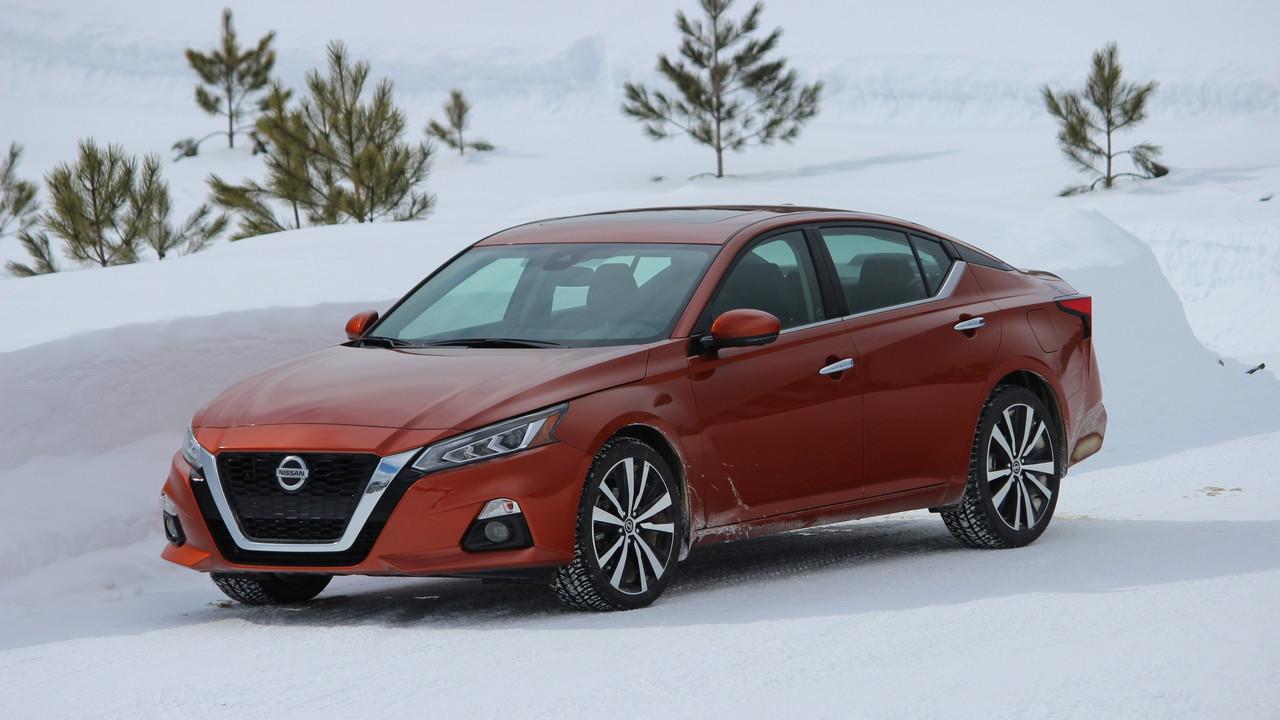 Winter Drive 2019 Nissan Altima