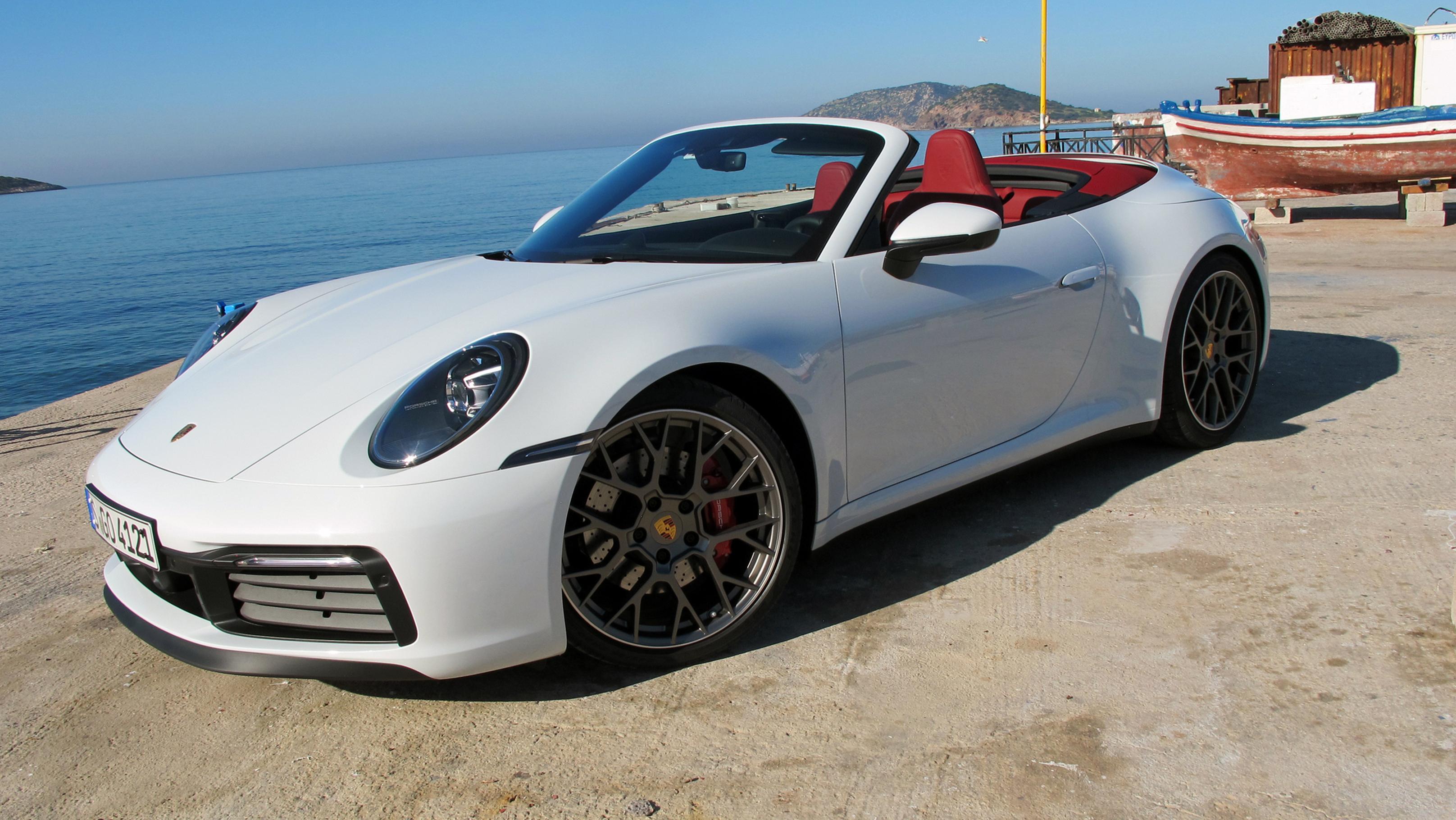 First Drive 2020 Porsche 911 Carrera Cabriolet Wheels Ca