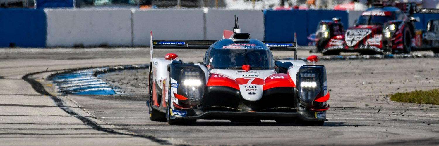 TrackWorthy - FIA WEC_race_hour one_#7_Toyota T5050 - Hybrid_ lap one