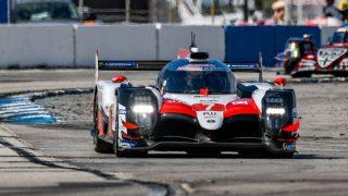 TrackWorthy - FIA WEC_race_hour one_#7_Toyota T5050 - Hybrid_ lap one