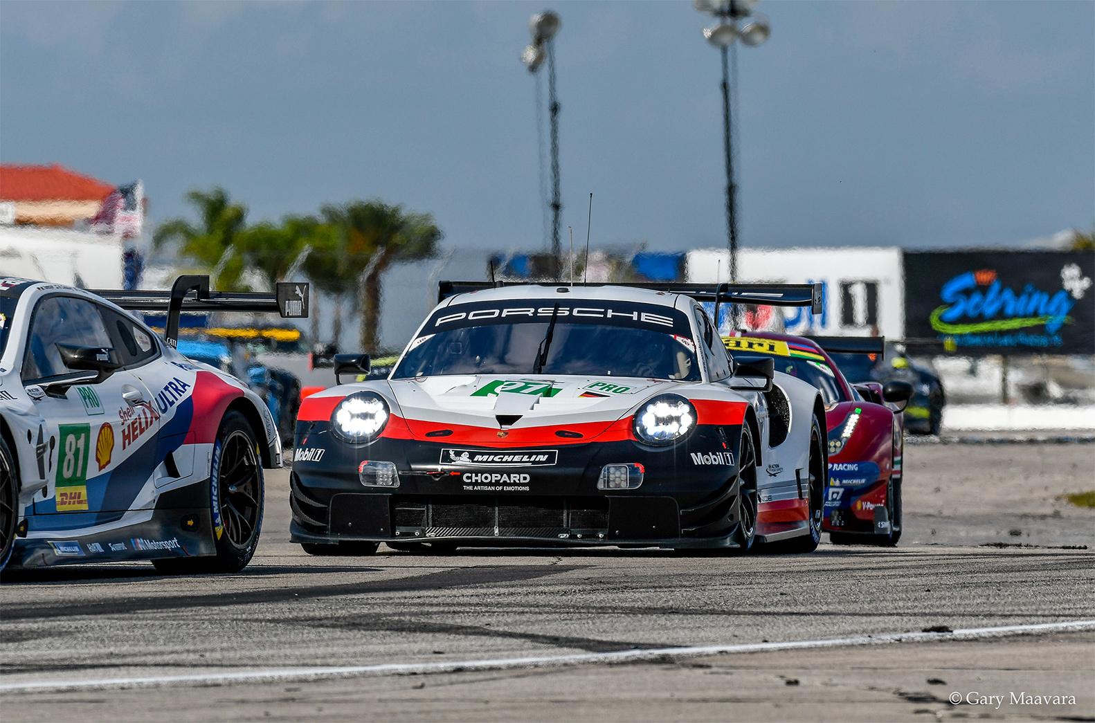 TrackWorthy - FIA WEC_race_hour one_#91_Porsche 911 RSR_ lap one