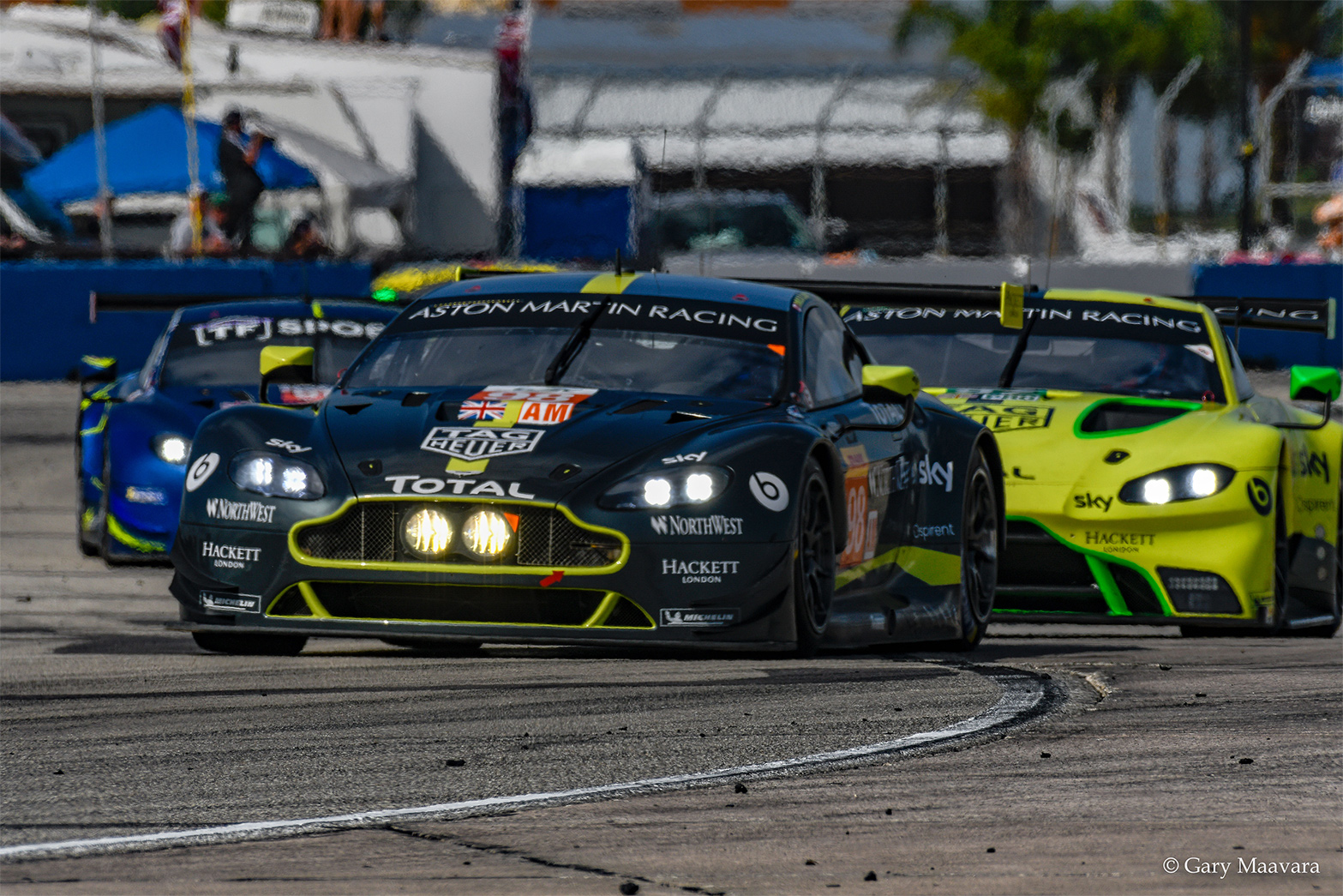 TrackWorthy - FIA WEC_race_hour one_#98_Aston Martin Vantage_ lap one