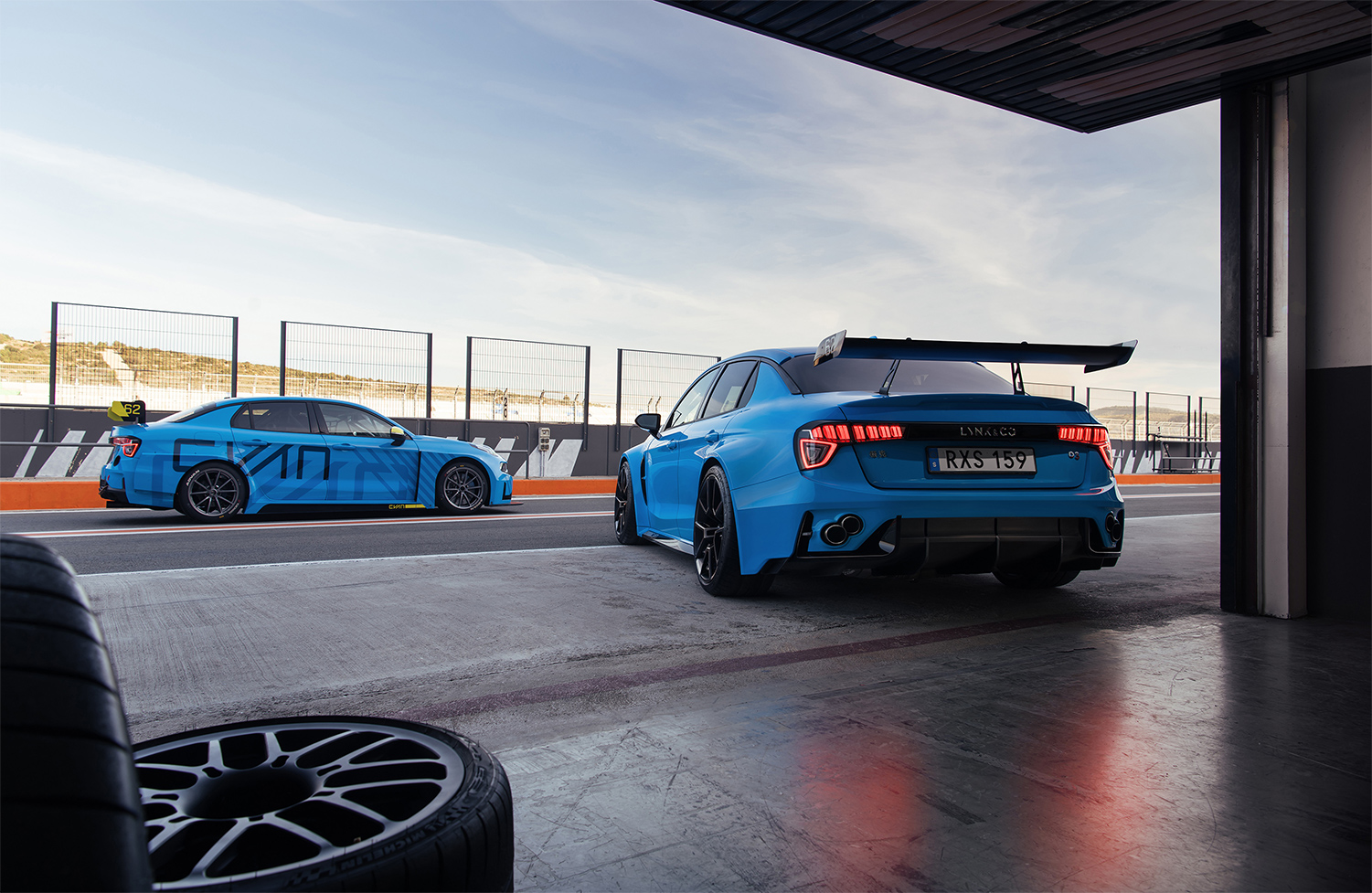 TrackWorthy - Lynk _ Co 03 Cyan Concept (4)