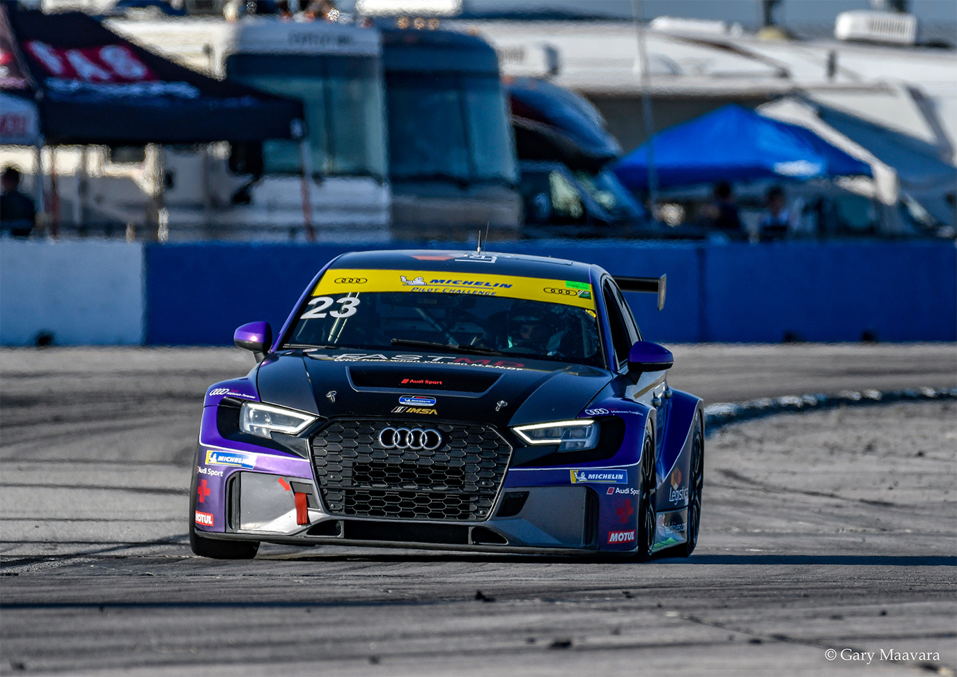 TrackWorthy - Michelin_qualifying_#23_Audi RS3 LMS TCR