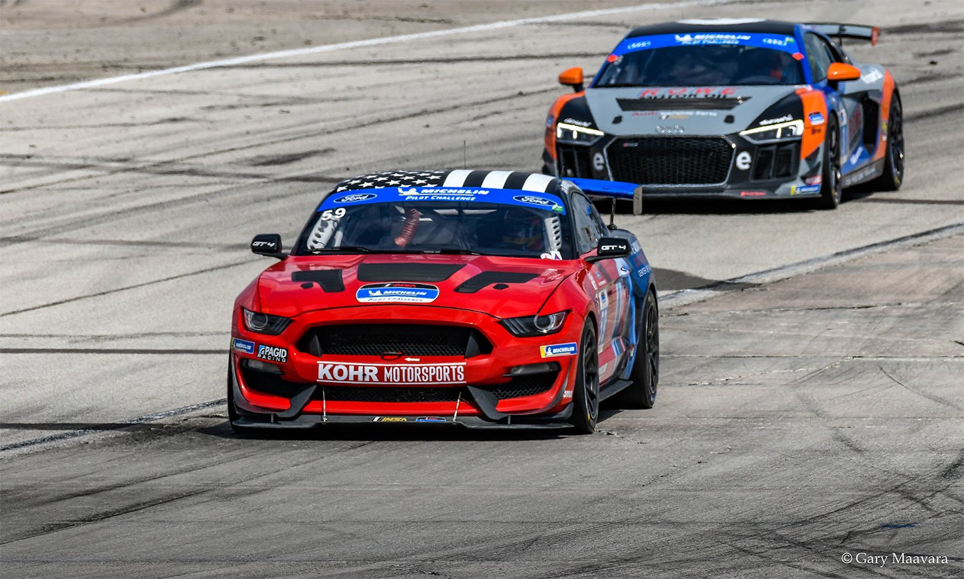 TrackWorthy - Michelin_race_#59_Ford Mustang GT4 enters turn 16