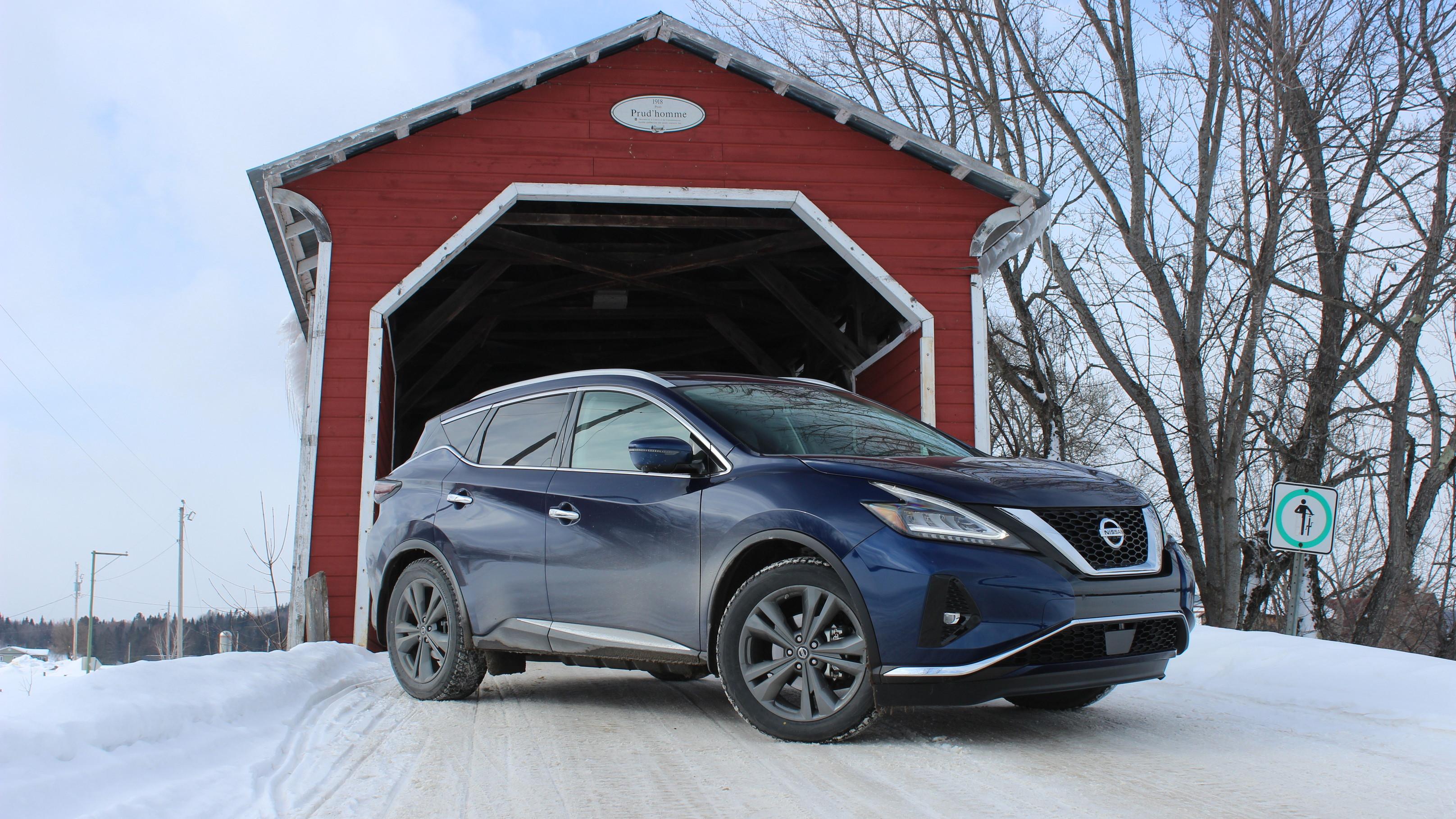 Winter Drive 2019 Nissan Murano and Altima-te AWD