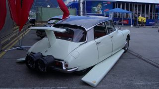 Citroen DS Rocket Powered Flying Car