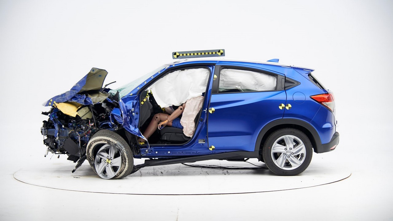 Crash-tested HR-V