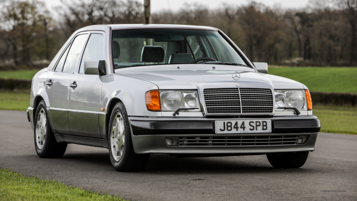 Mr Bean's Mercedes-Benz 500 E