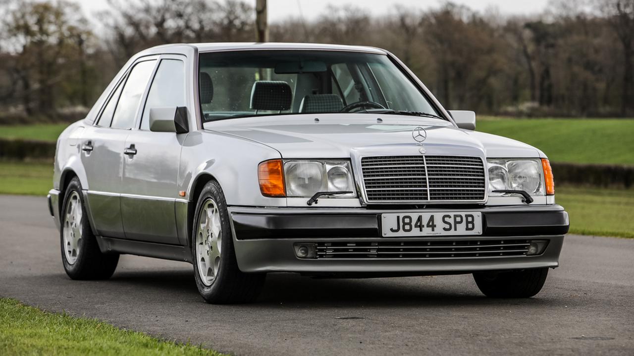 Mr Bean's Mercedes-Benz 500 E