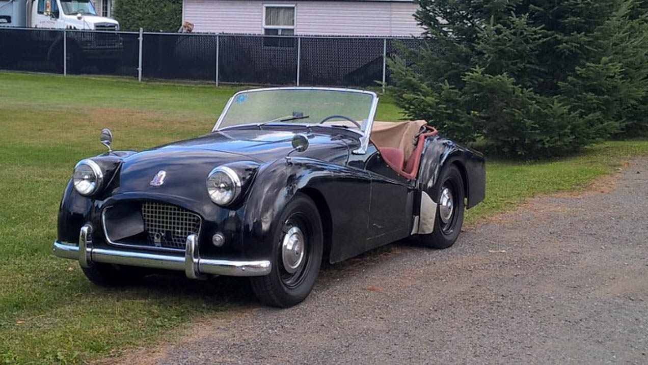 Triumph Tr2 Owned By Montreal Resident For 64 Years Now For Sale