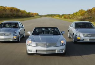 Cadillac V series cars