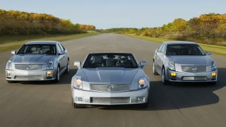 Cadillac V series cars