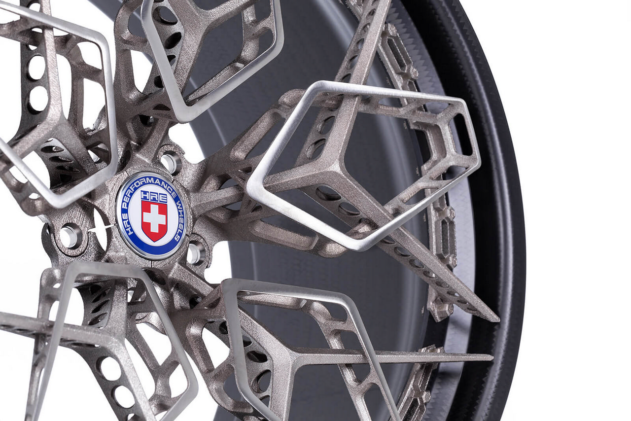 These 3D Printed Titanium Wheels by HRE are Absolutely Stunning