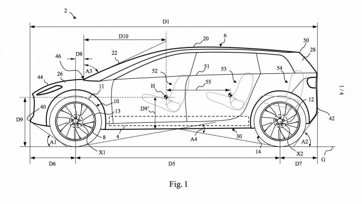 Dyson EV Patents