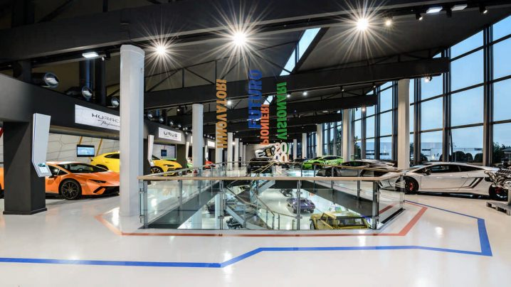 Lamborghini Museum MUDTEC