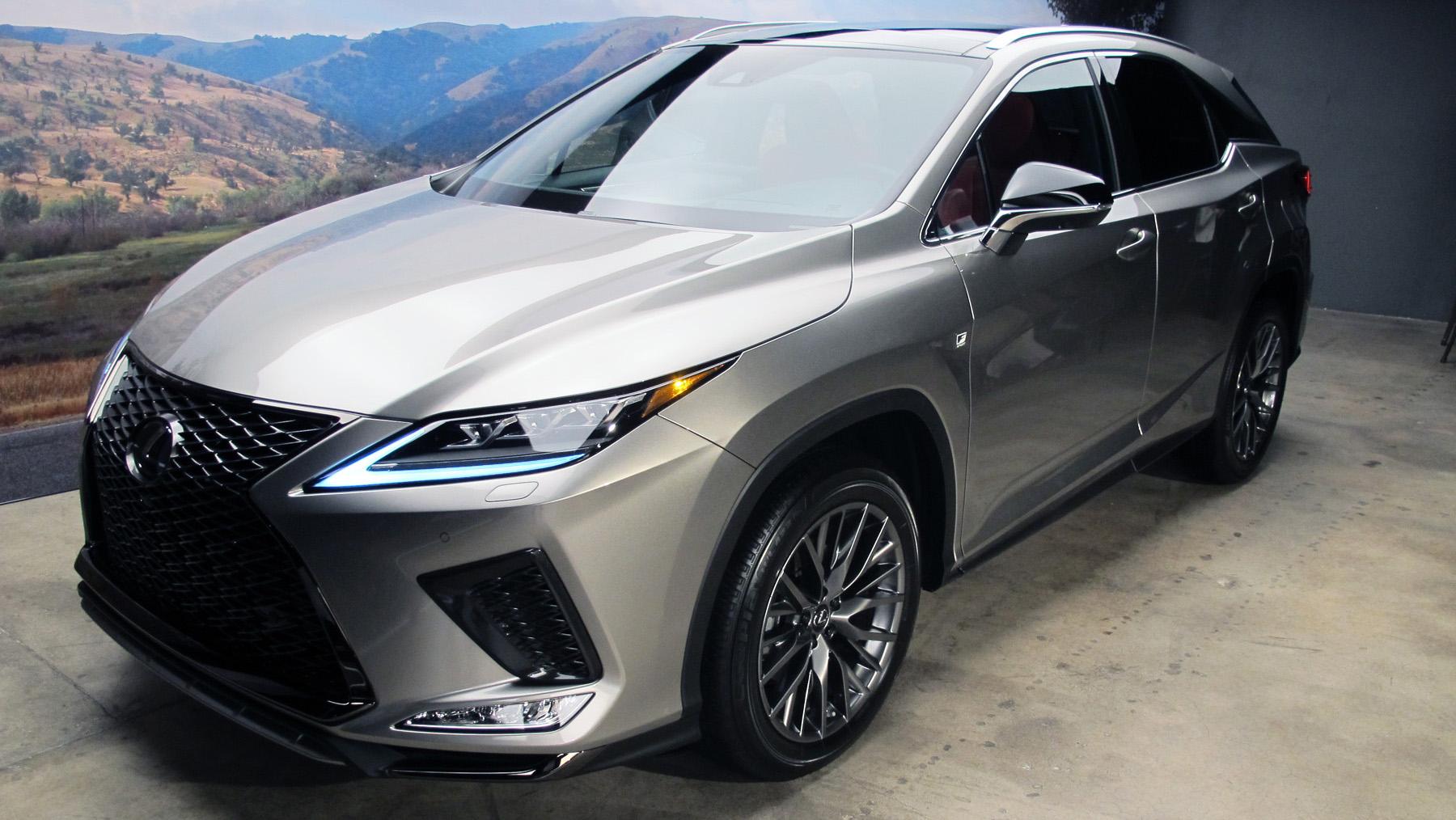 Canadian-built 2020 Lexus RX Revealed – WHEELS ca
