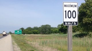 Ontario Speed Limit Increase
