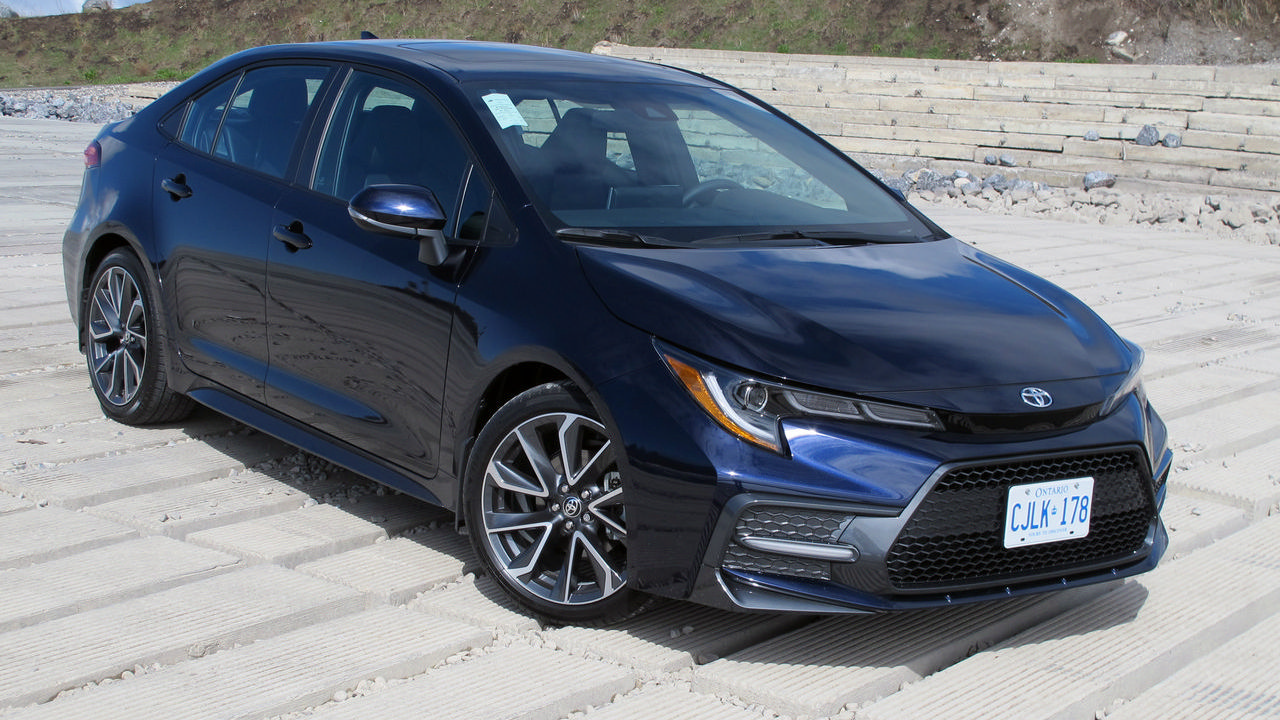 First Drive 2020 Toyota Corolla Sedan