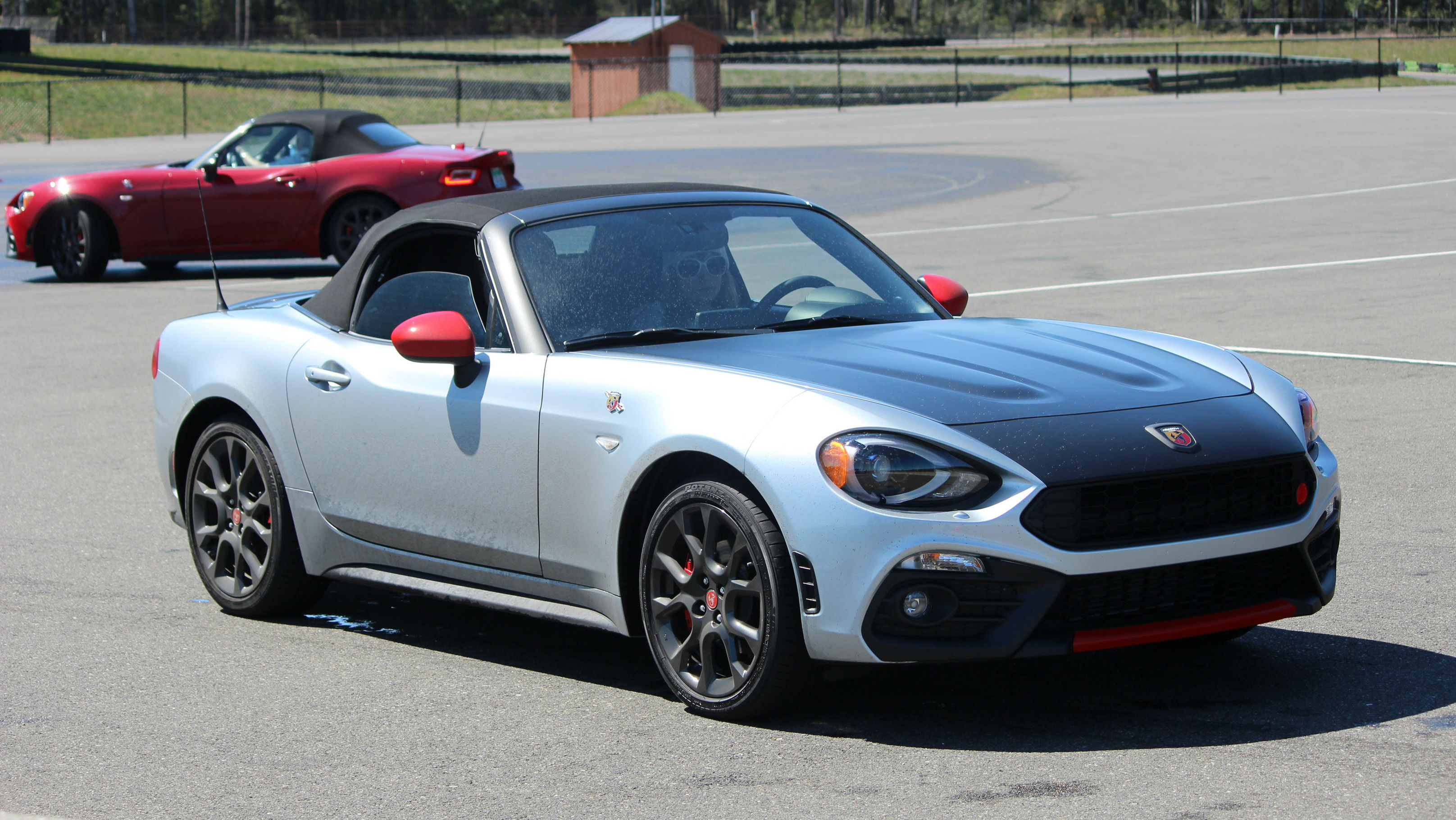 Track Tested 2019 Fiat 124 Spider Abarth And Fiat 500 Abarth Wheels Ca