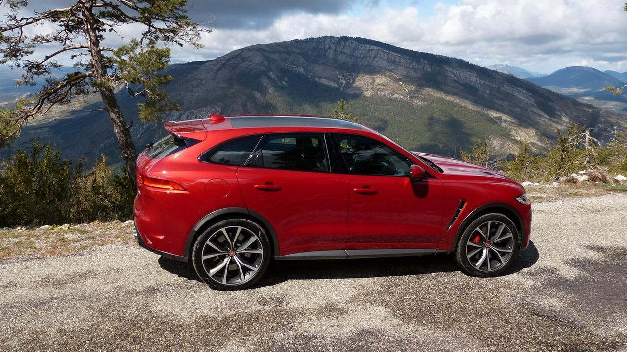 First Drive 2019 Jaguar F Pace Svr Wheels Ca