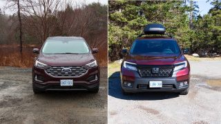 ford edge vs honda passport