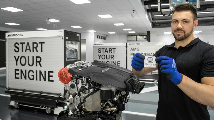 Mercedes-AMG 2.0-litre M139 engine