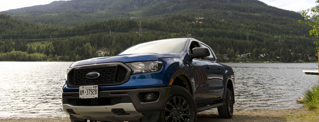 2019 Ford Ranger off-road